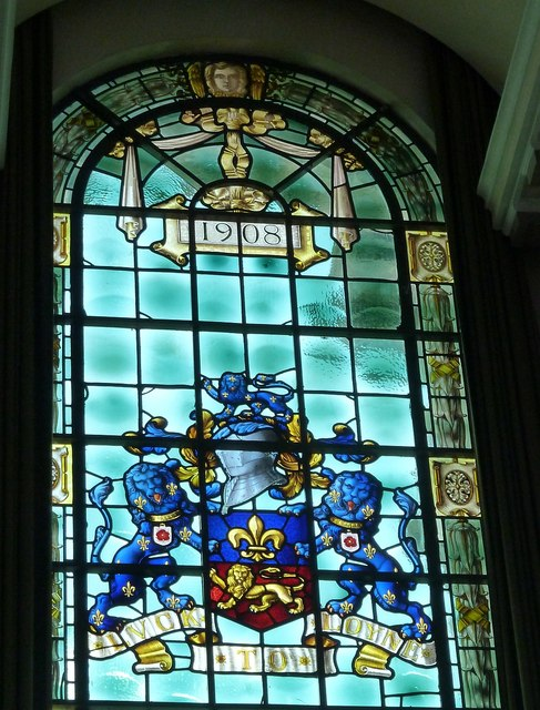 Ashton Memorial - Arms of Lancaster