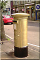SD9851 : Gold Post Box for Danielle Brown by John Sparshatt