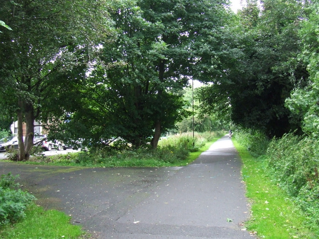 Former Corstorphine Branch Railway