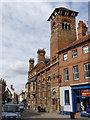 SK7953 : Former Nottingham and Notts Bank, Kirk Gate  by Alan Murray-Rust