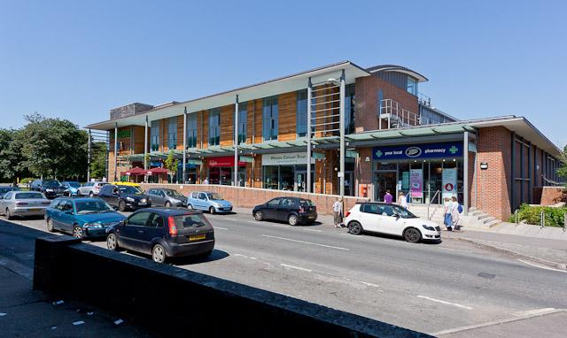 Waitrose Shopping Complex at Weeke