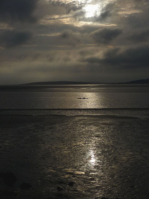 Reflections on the Kent channel off Silverdale