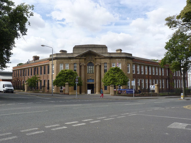 Newark College 169 Alan Murray Rust Geograph Britain And