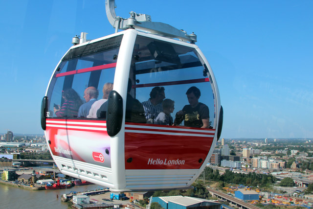 Emirates Air Line cable car  Transport for London