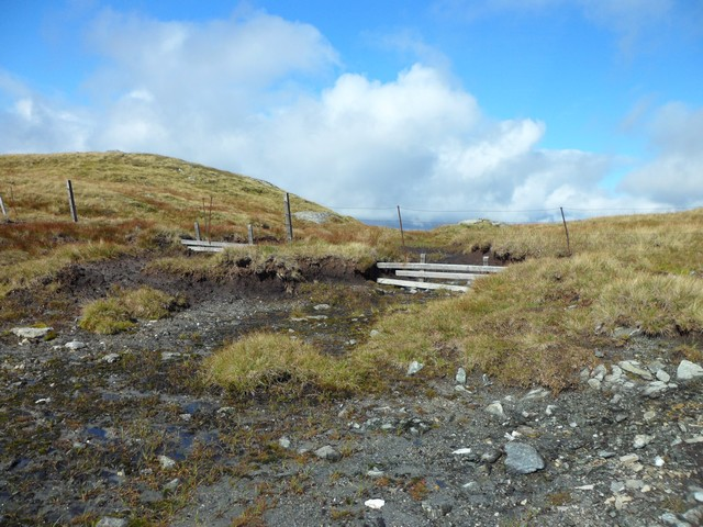 Fence on the East Lawers Ridge