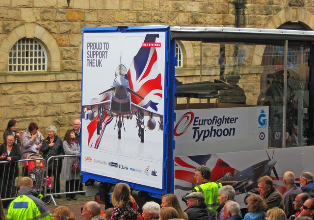 Preston Guild Trades Procession 2012 (006) - BAE Systems
