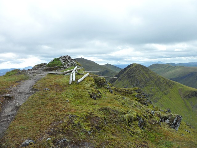 Meall Garbh summit