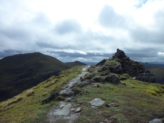 The summit of An Stuc