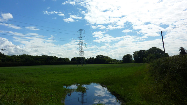 Overhead Power Lines, Dunham Woodhouses