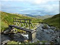 NN6742 : Small bridge crosses the Lawers Burn by Stephen Sweeney