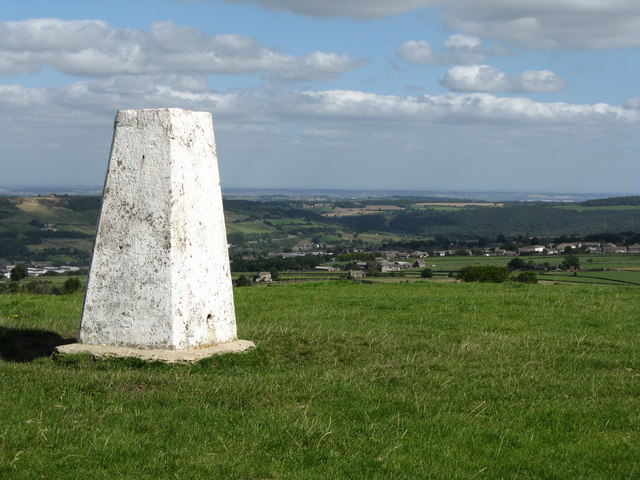 Trig Point looking east