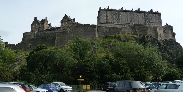 Edinburgh Castle - southwest aspect