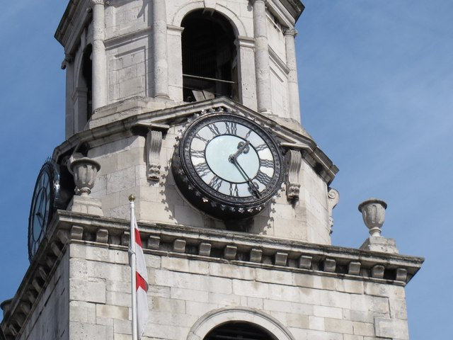 Clock of St George the Martyr church