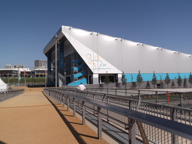 Bridge to the Water Polo Arena, Olympic Park E15