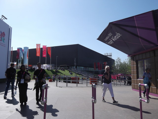 Side of the Copper Box, Olympic Park E15