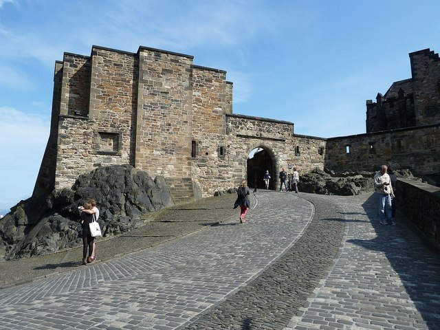 Edinburgh Castle - Foog's Gate