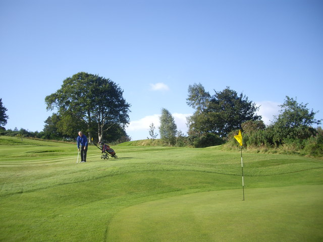 Chipping to the second hole