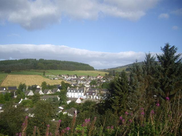 A view of Macbeth Arms inn
