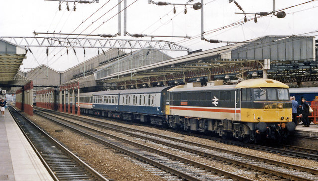 Crewe Station, 1986