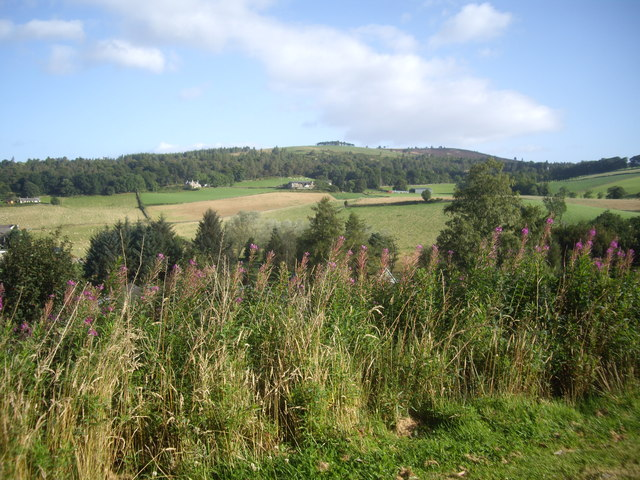 A view NNE towards Cloak farm