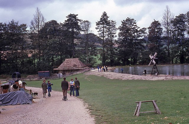Weald and Downland Open Air Museum in 1977