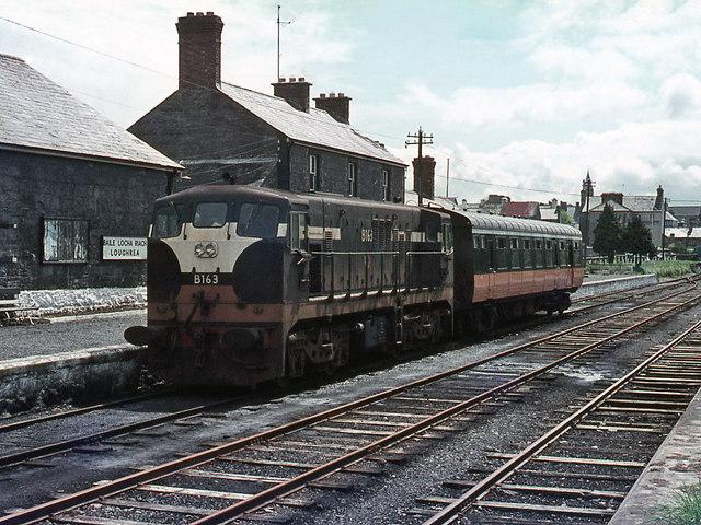 B Class Locomotive At Loughrea 169 The Carlisle Kid Cc By Sa