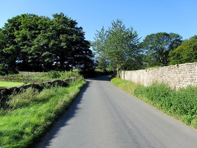 Road in Low Swinton