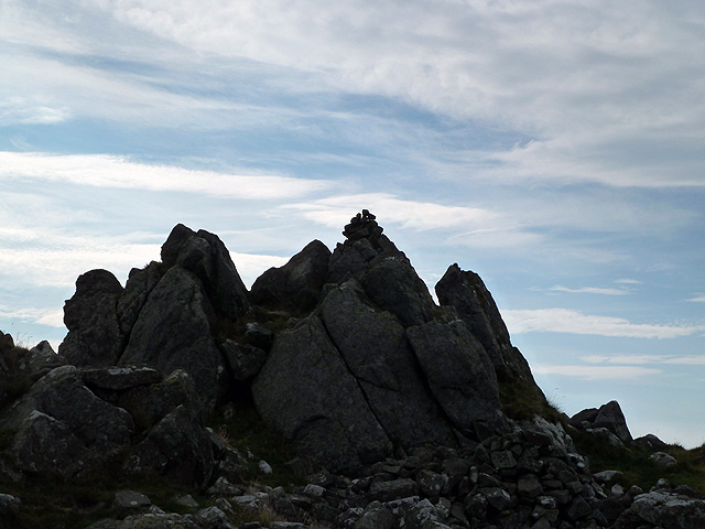 The summit of The Schil