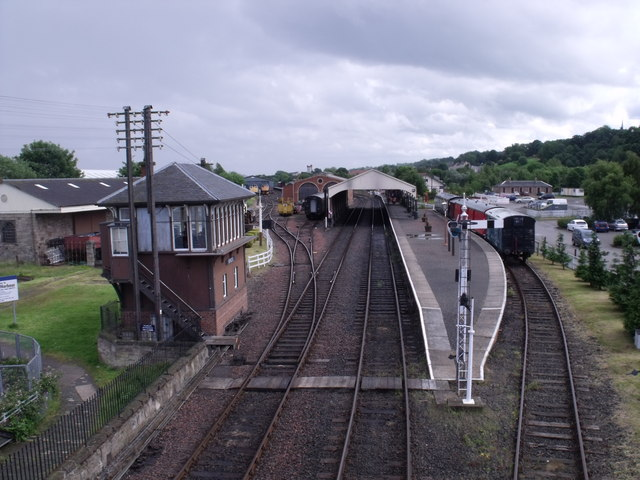 Bo'ness Railway Station