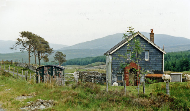 Cwm Prysor station (remains), 1986