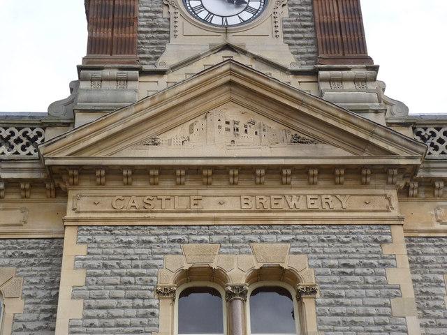 Castle Brewery, facade detail