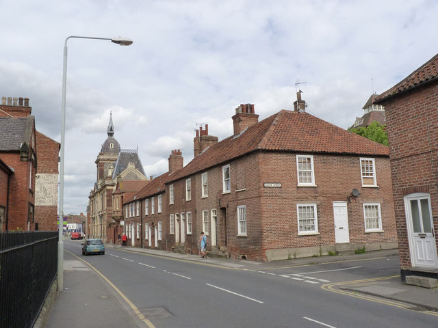 Houses on Albert Street
