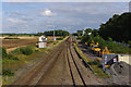 SD4631 : Railway line at Salwick by Ian Taylor