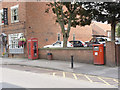 SK7953 : Castle Gate | Newark postbox (ref. NG24 110)  by Alan Murray-Rust