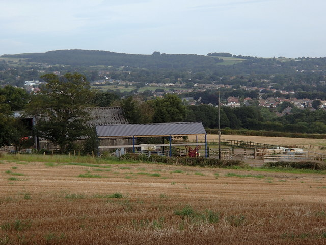 Farm buildings at Woodthorpe Hall