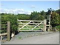 SD4869 : Gate near Bolton-le-Sands by Malc McDonald