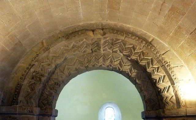 St Margaret's Chapel - Norman arch