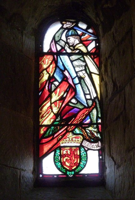 St Margaret's Chapel - William Wallace window