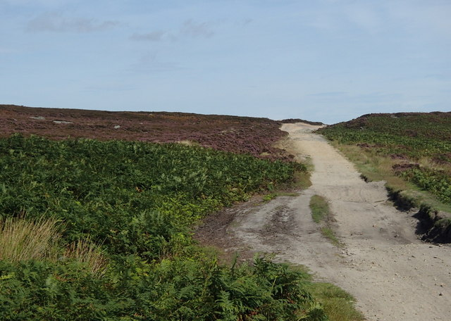 Houndkirk Road on Burbage Moor