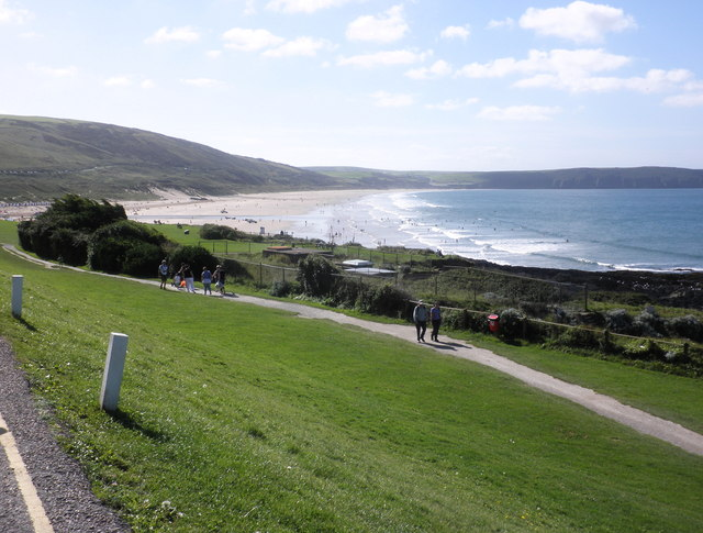 Coastal path, Woolacombe