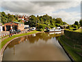 SJ6374 : Trent and Mersey canal, Barnton Basin by David Dixon