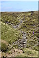 SK0987 : Waterfall north of Crowden Tower by Neil Theasby