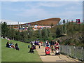 TQ3784 : Path to Park Live West, Olympic Park by David Anstiss