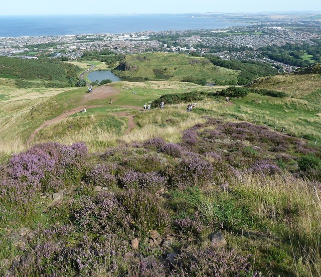 Arthur's Seat - view from near the top