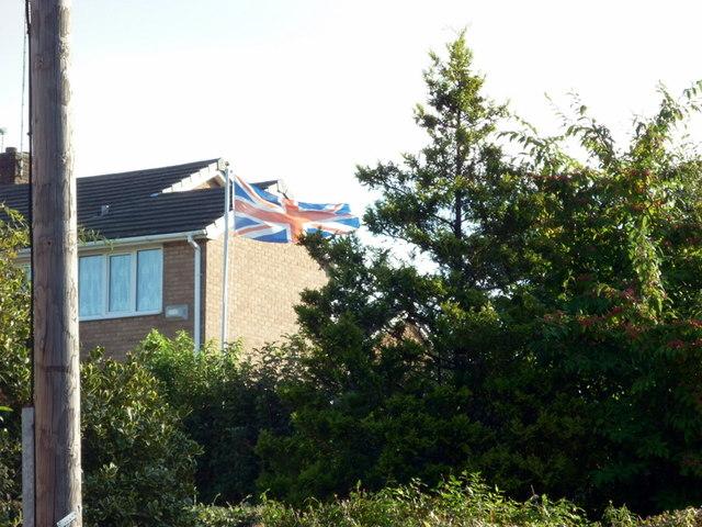 Upside down Union Flag #50