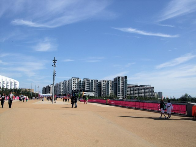 Path to Olympic Village