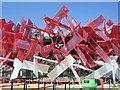 TQ3784 : Beat Box, Olympic Park by Paul Gillett