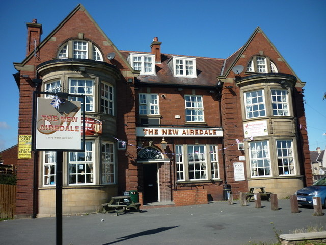 The New Airedale public house