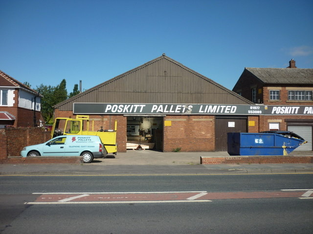 Poskitt Pallets Ltd on Holywell Lane