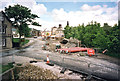 SE0713 : Huddersfield Narrow Canal, restoration works below Lock 23E (1) by John Webb